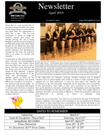 thumbnail of April 2019 Newsletter
