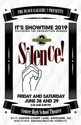thumbnail of Silence Poster 11×17 (3)