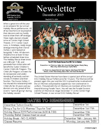 thumbnail of December Newsletter