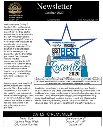 thumbnail of October Newsletter