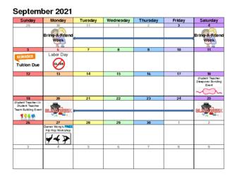 thumbnail of Sep 2021 Event Calendar